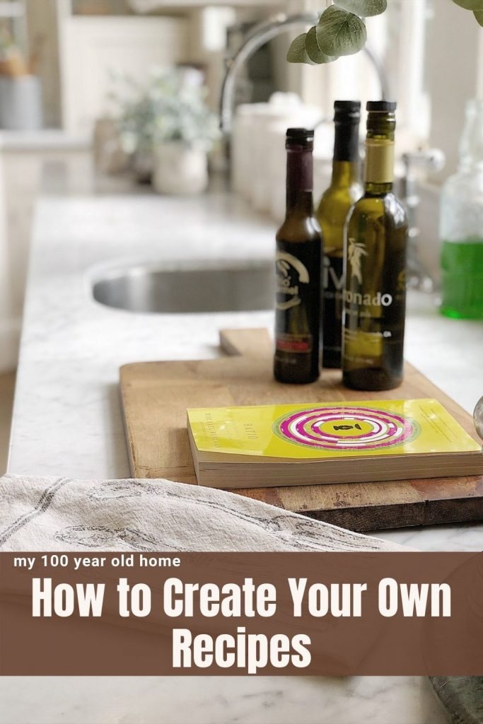 How to Create Your Own Recipes