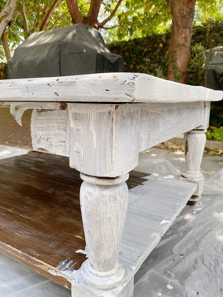 How to Refinish a Table with Milk Paint