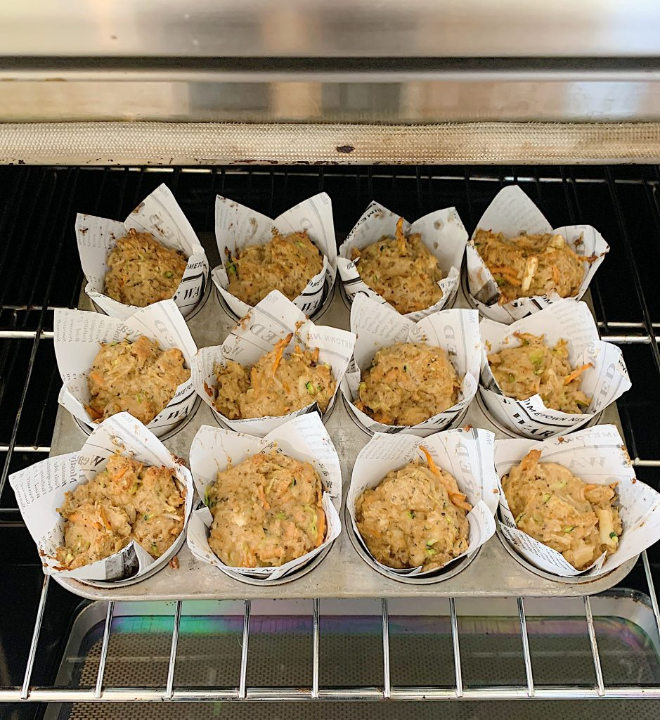 My Favorite Muffins in the Oven
