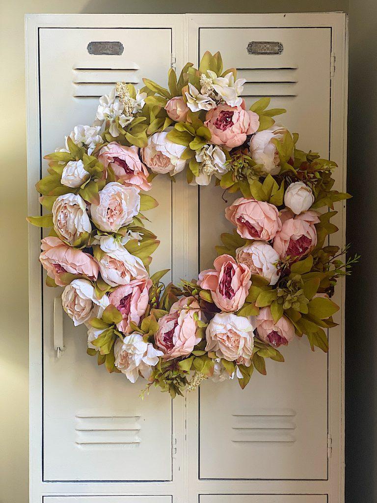 Peony Wreath DIY