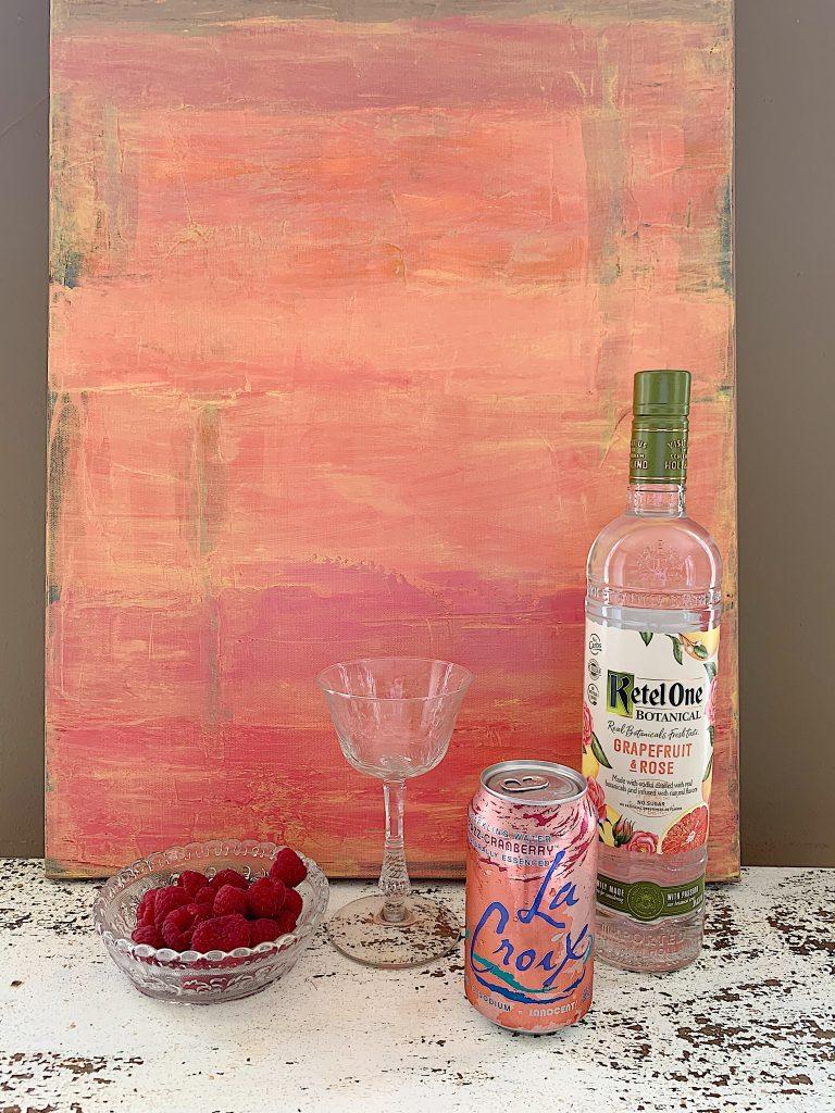 Pink Raspberry Cooler Ingredients