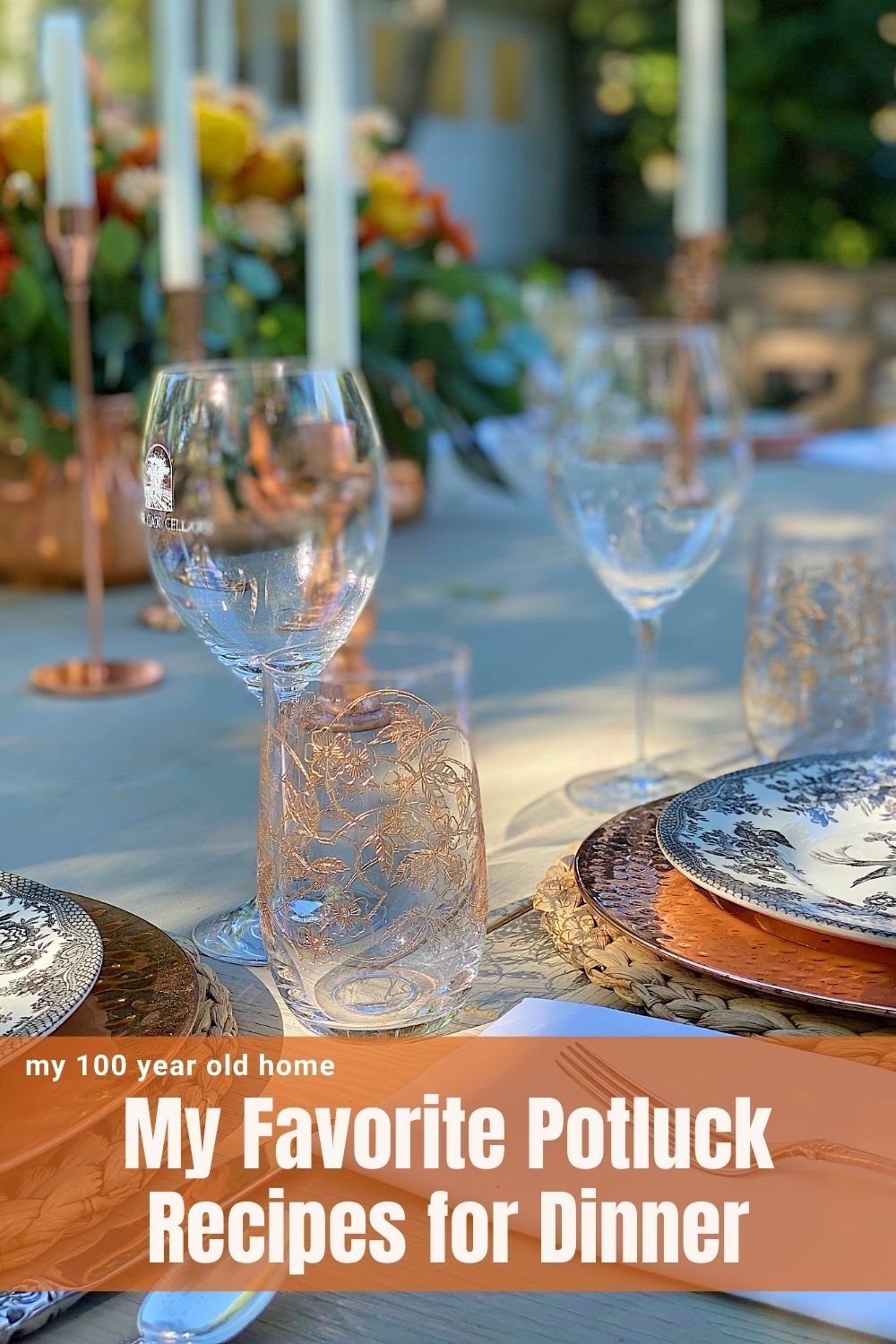 We hosted our dinner club and to make it easy we served potluck. Today I am delighted to share some of my favorite potluck recipes.