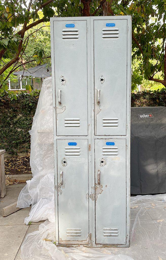 Prep to Paint Metal School Lockers