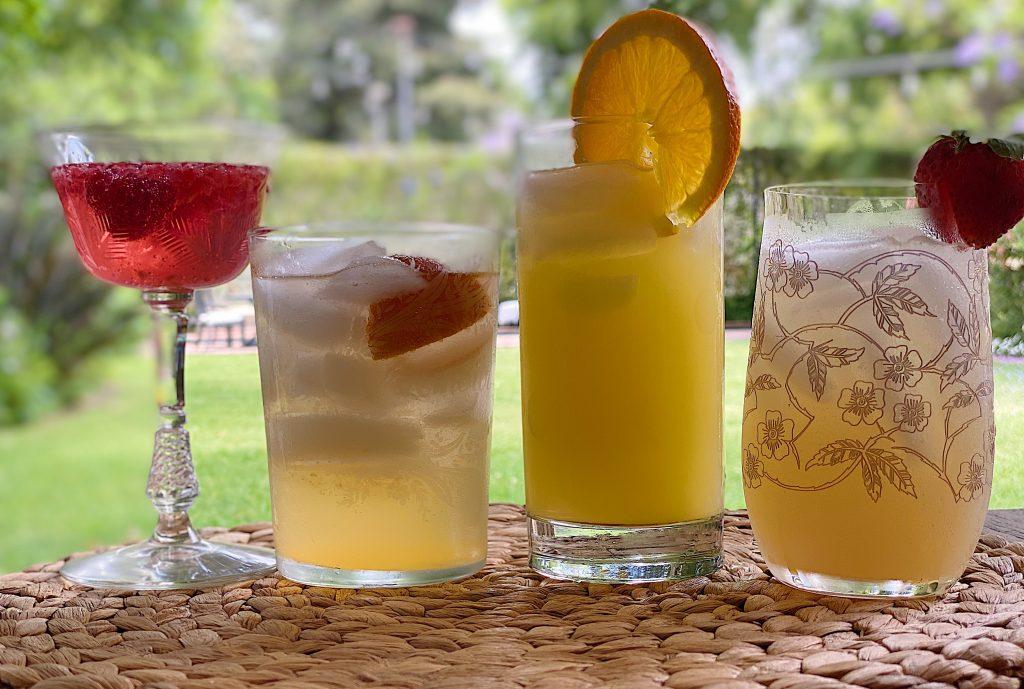 Summer Colors Cocktails