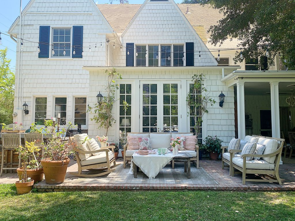 Summer Dining on the Porch and Patio