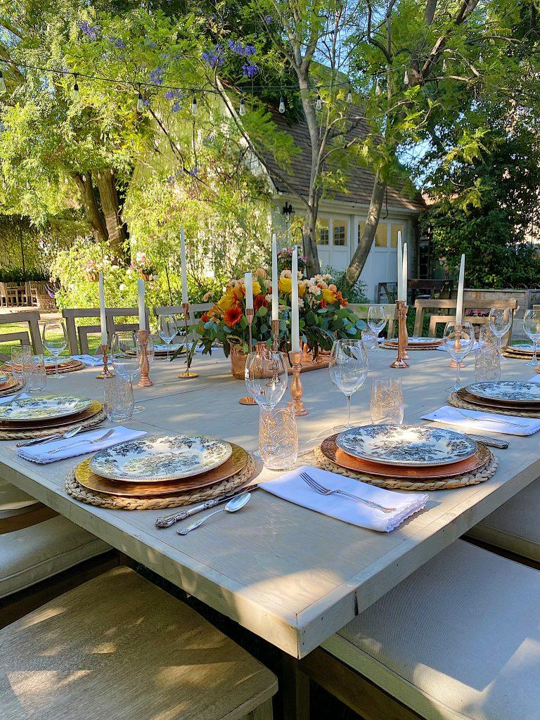 Summer Fun Dining Outdoors