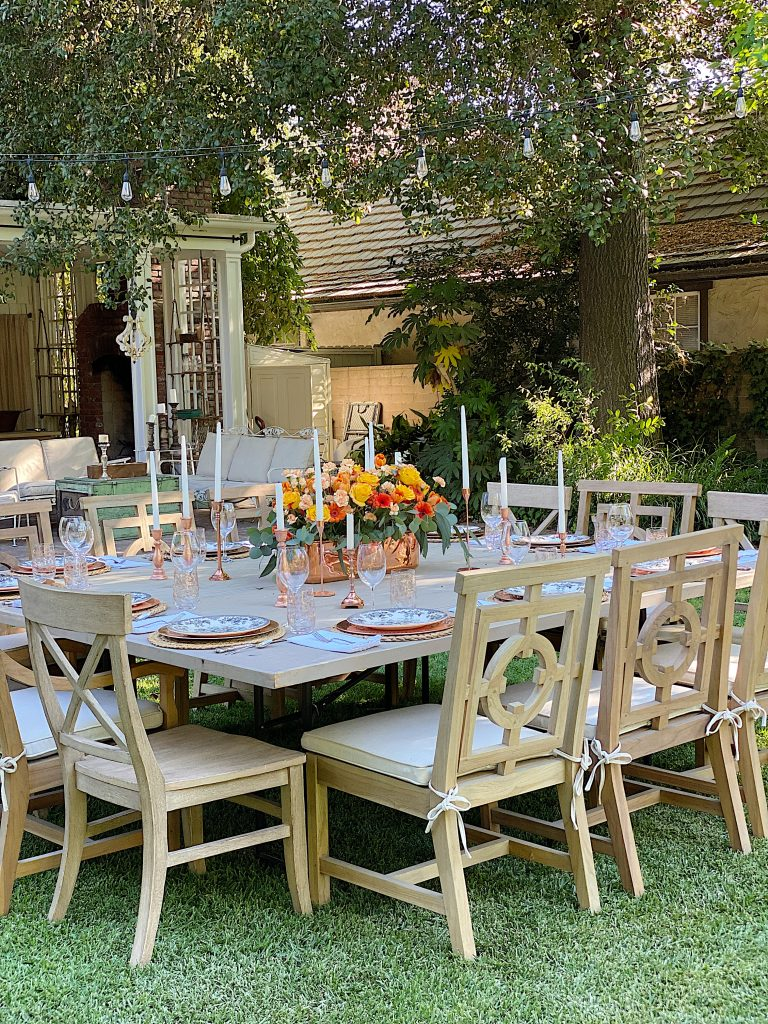 Summer Fun Intimate Dinner Party