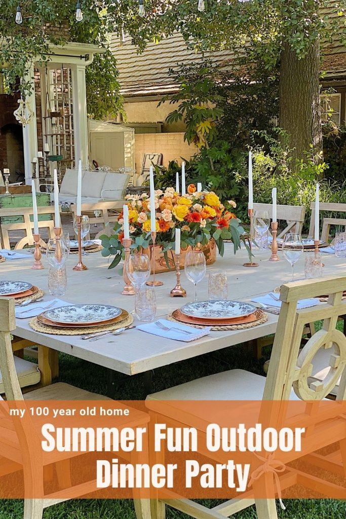 Summer Fun Outdoor Party