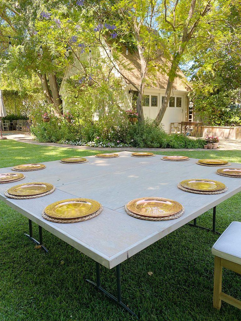 Summer Fun Setting the Table