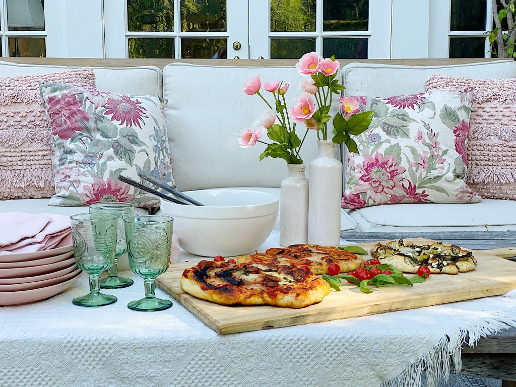 Summer Pizza Night on the Back Porch