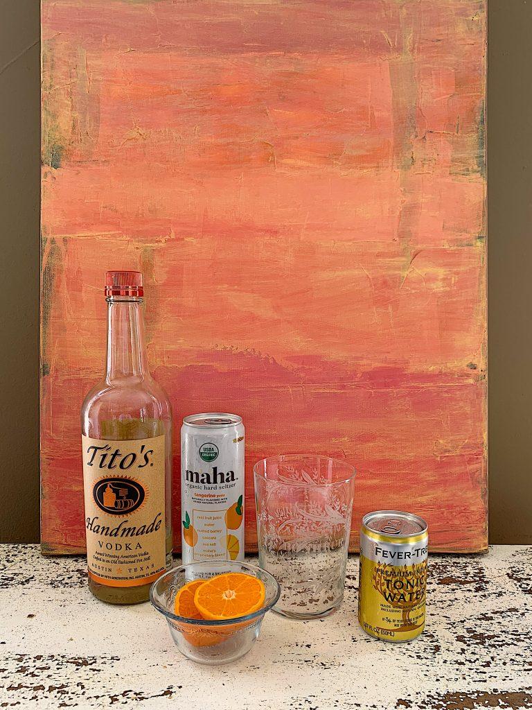 Vodka Tangerine Tonic Ingredients