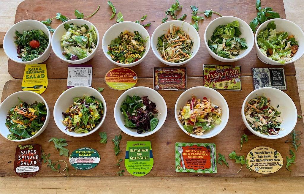 A Taste Test of Trader Joe's Salads