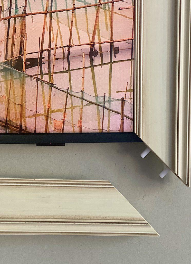 Adding a Deco TV Frame for My Samsung Frame TV