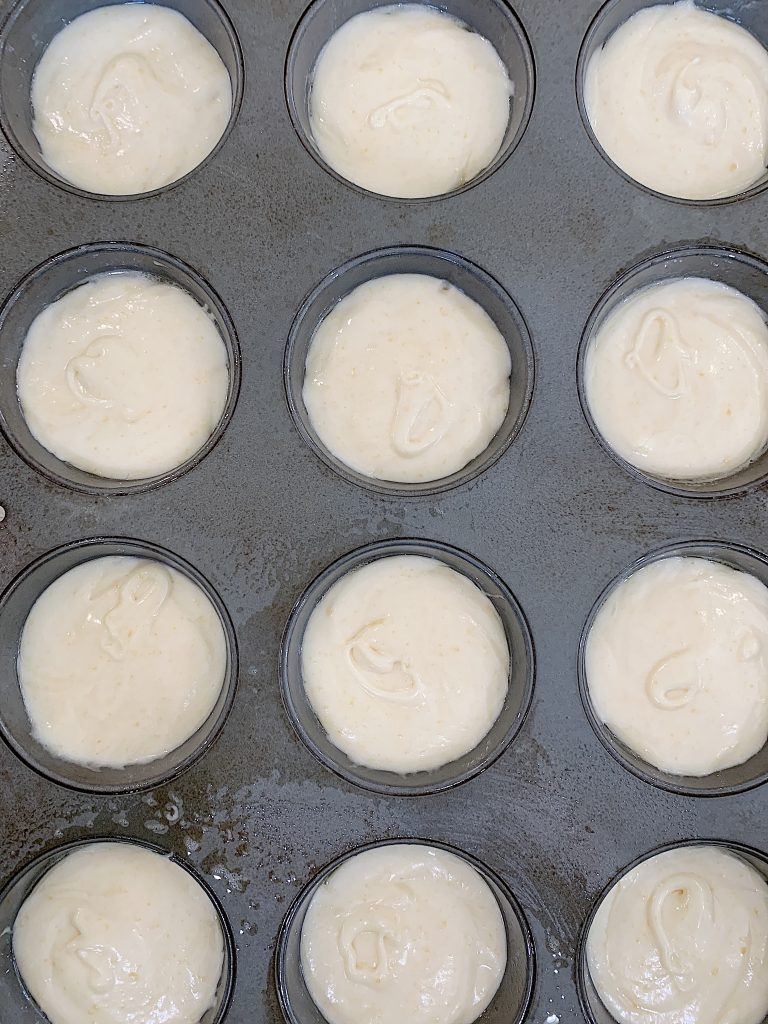 Baking the Cupcakes