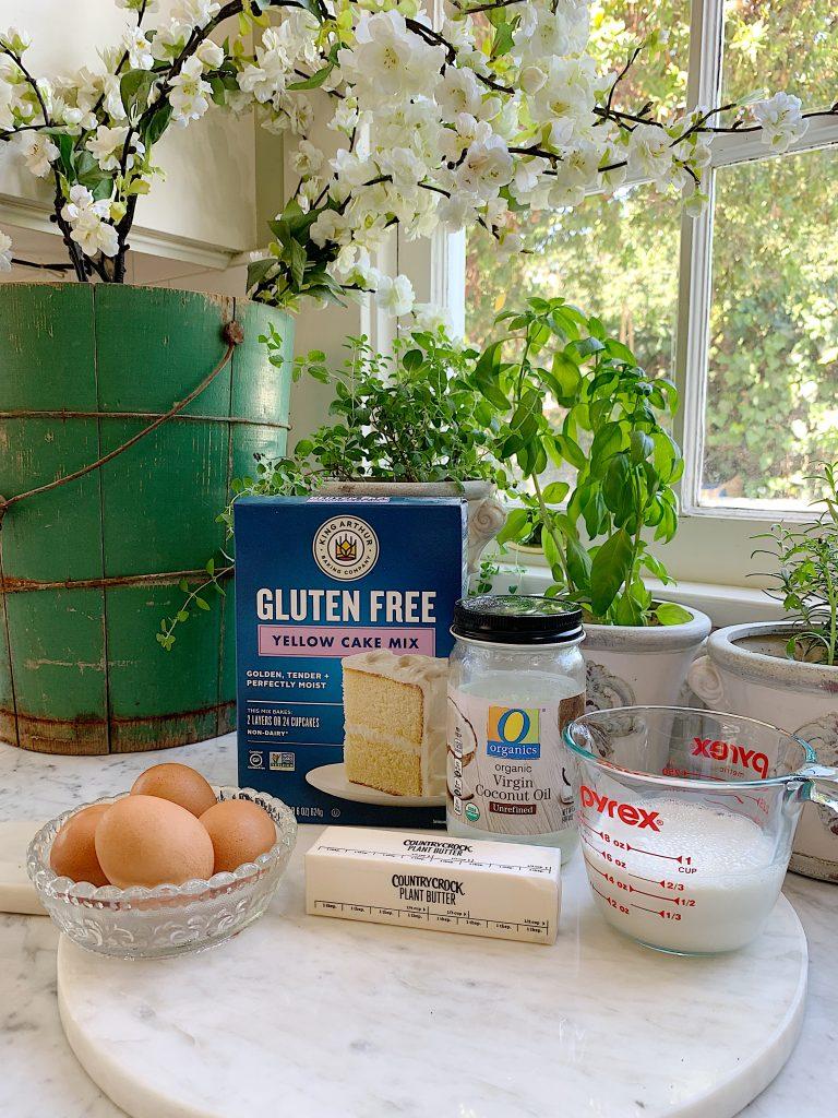 Easy Ice Cream Cupcakes Ingredients