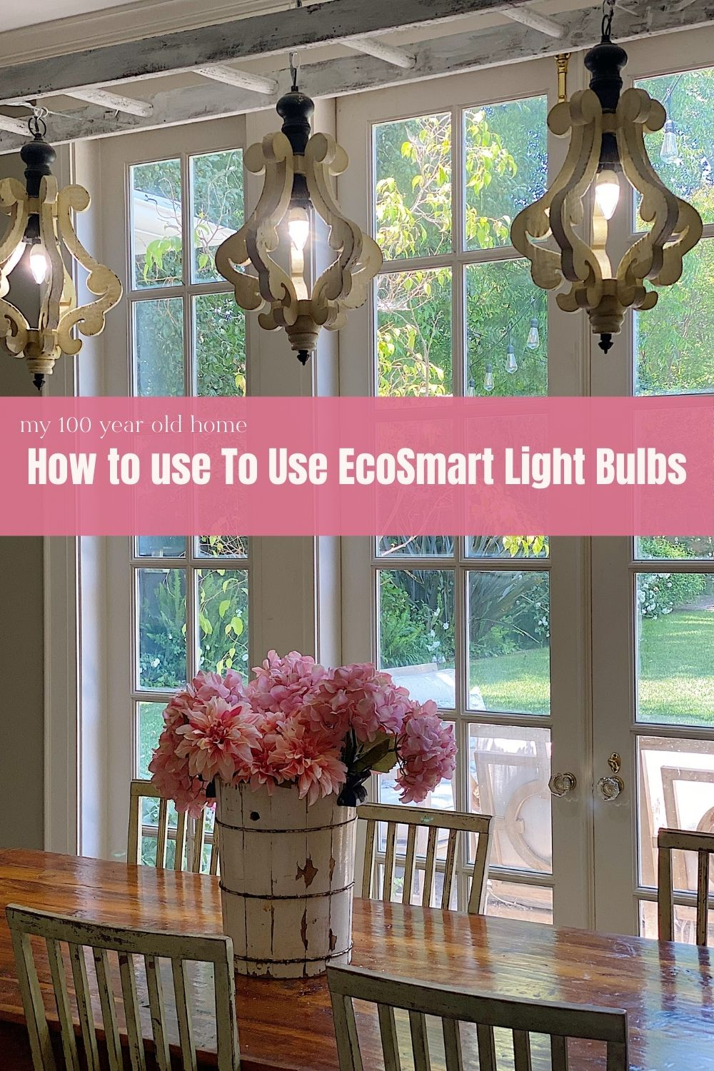 I am getting smarter about the lighting in our home! As you know, I have been focused on making our home smarter with energy efficiency and cost. Today I am sharing five areas in our homes where we can all use EcoSmart light bulbs.