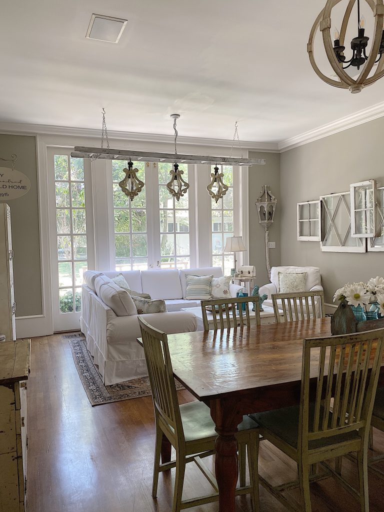 Family Room and a Summer Color Palette