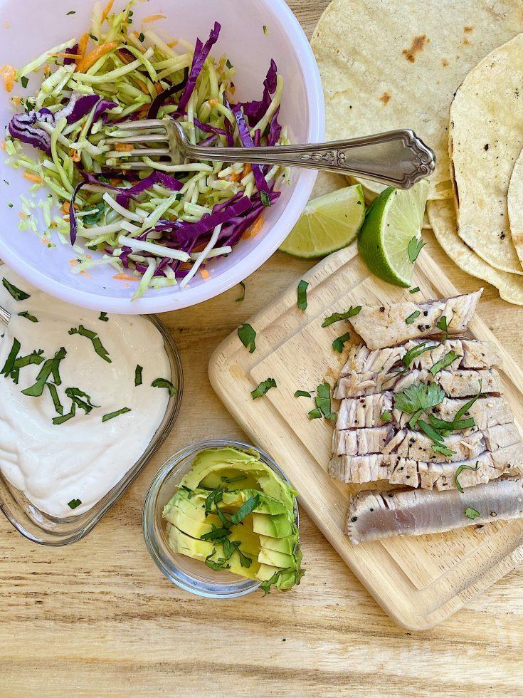 Grilled Ahi Tacos recipe