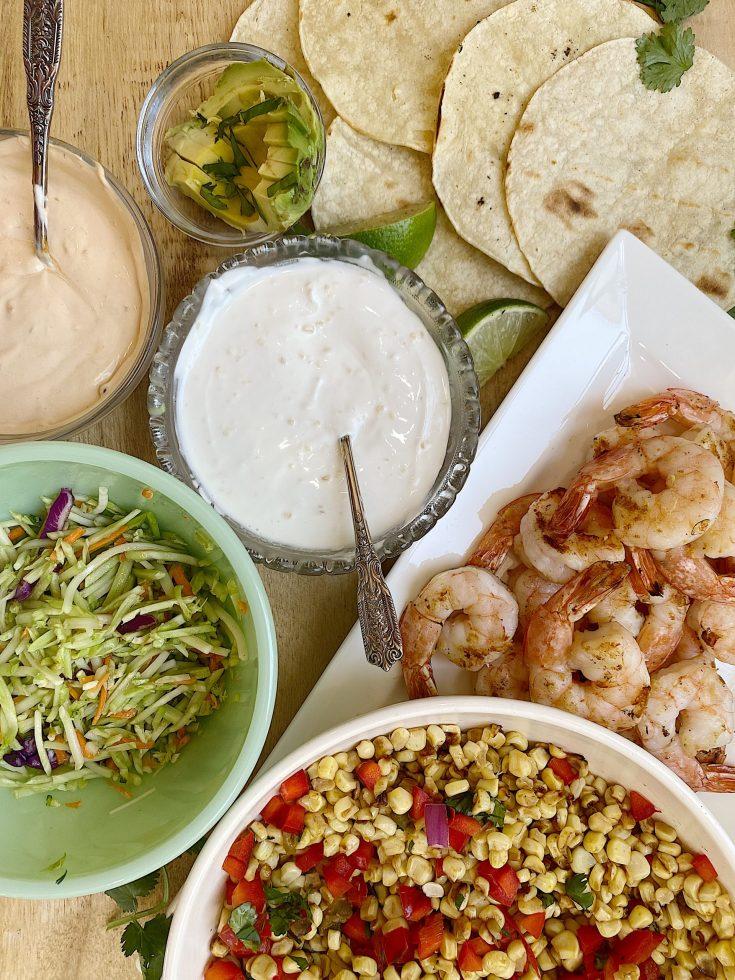 Grilled Baja Shrimp Taco Recipes