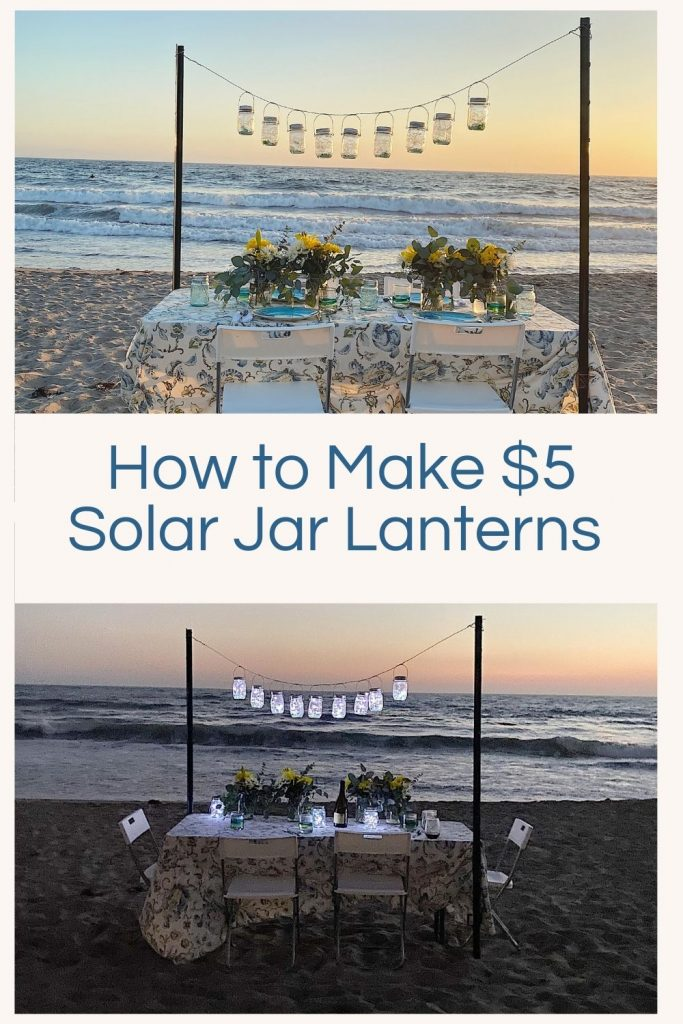 Today I am sharing some very inexpensive hanging solar lanterns and shared how you can use them anywhere to entertain!