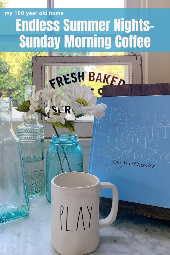 July Sunday Morning Coffee