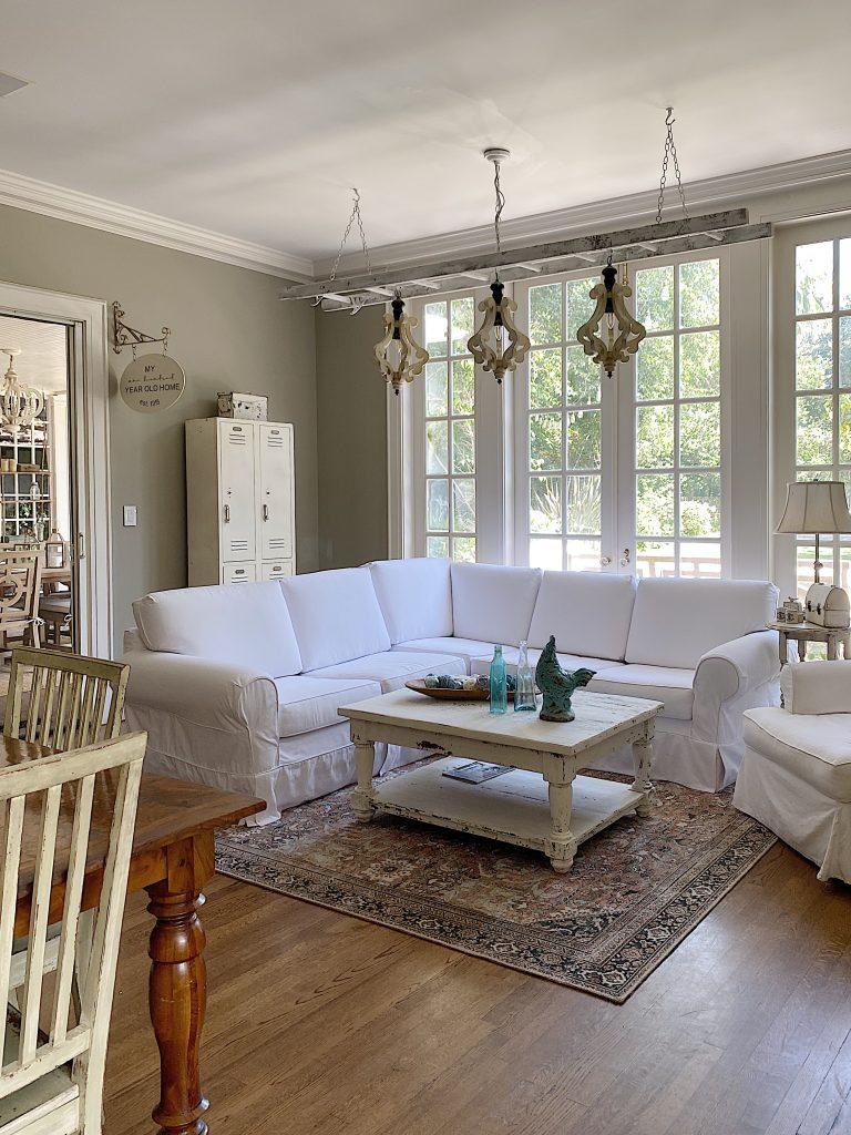 Summer Color Palette - Family Room