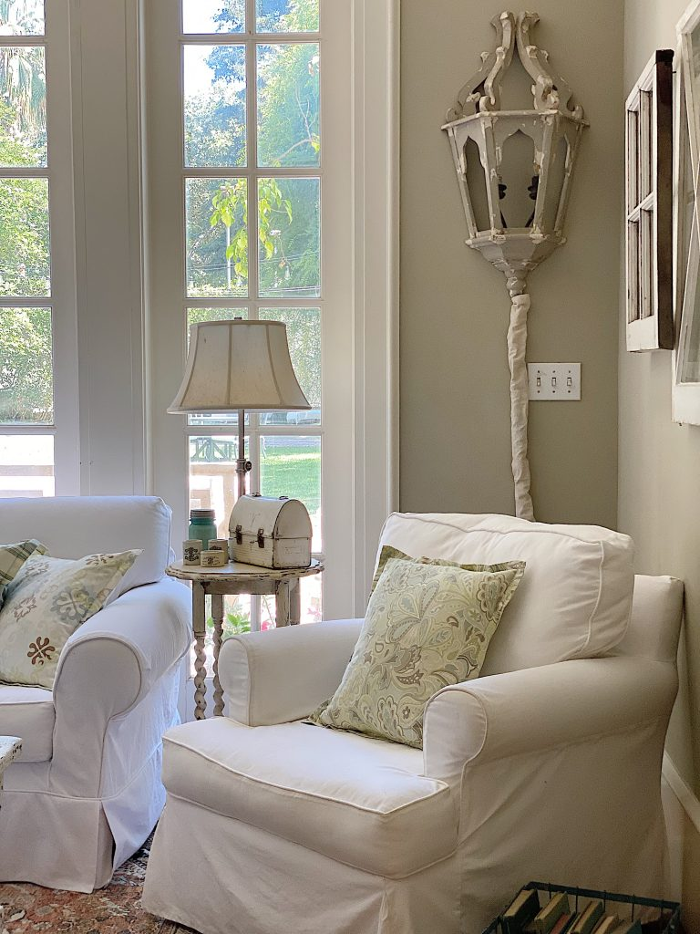 Summer Color Palette and Slipcovers