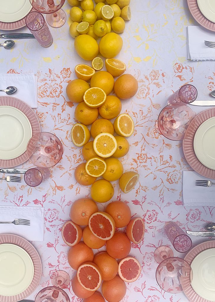 Summer Colors Table