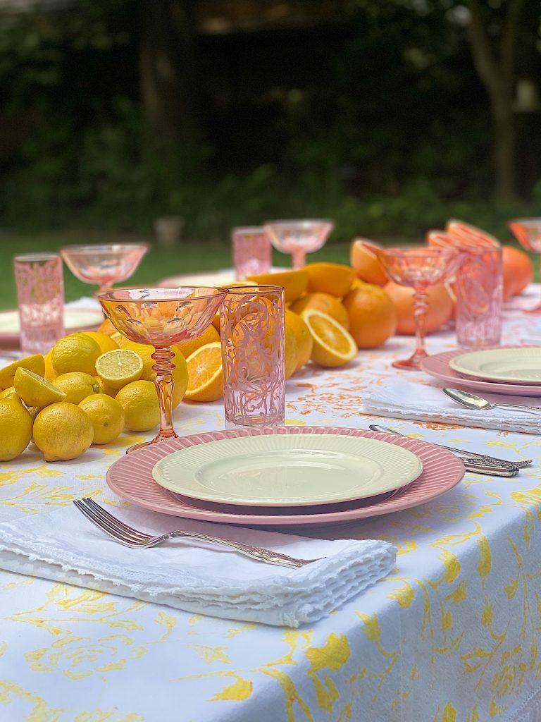 Summer Colors Tablecloth