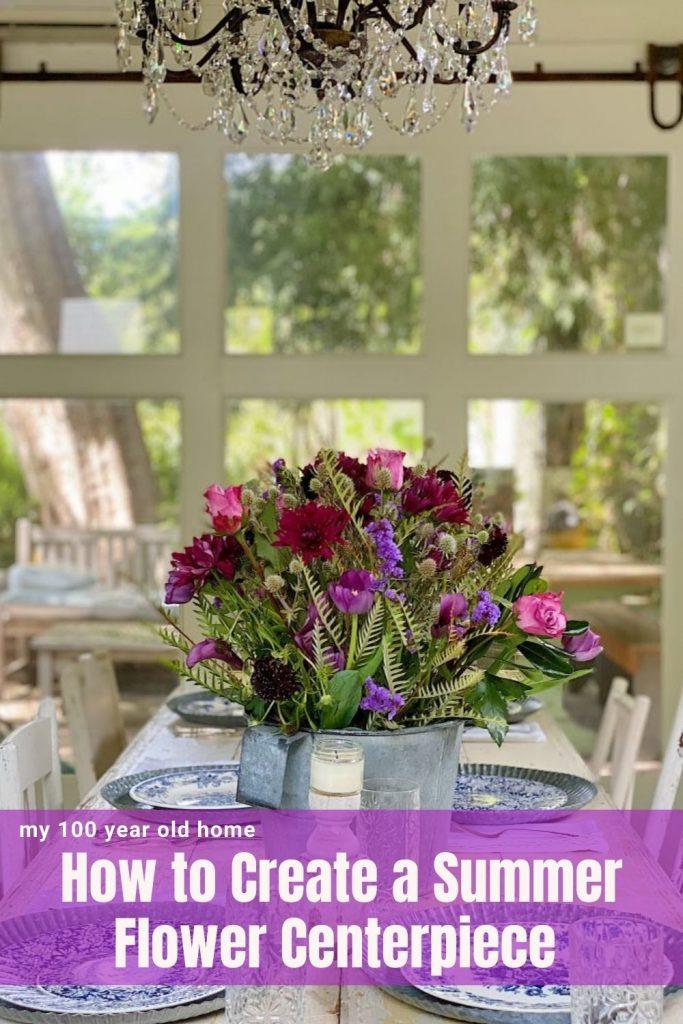 Summer Flower Centerpiece