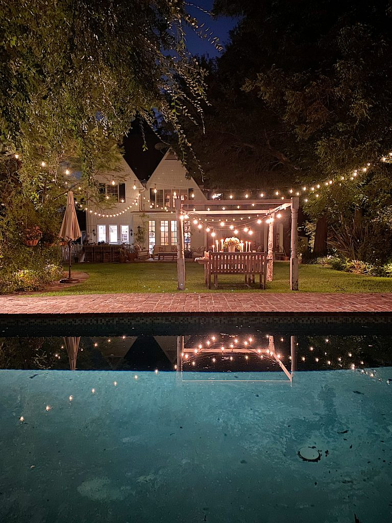 Summer Fun Outdoor Party Light Reflections