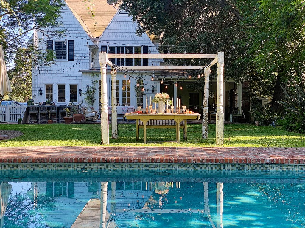 Summer Fun Outdoor Party Poolside