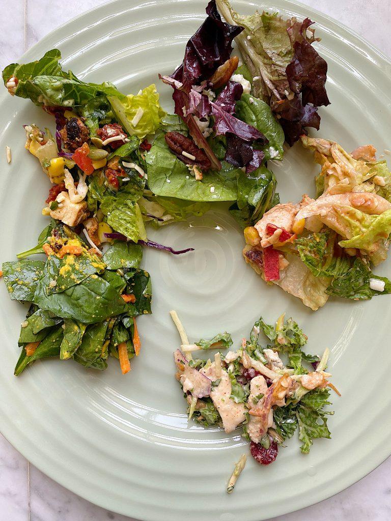 Tasting 11 Trader Joe's Salads