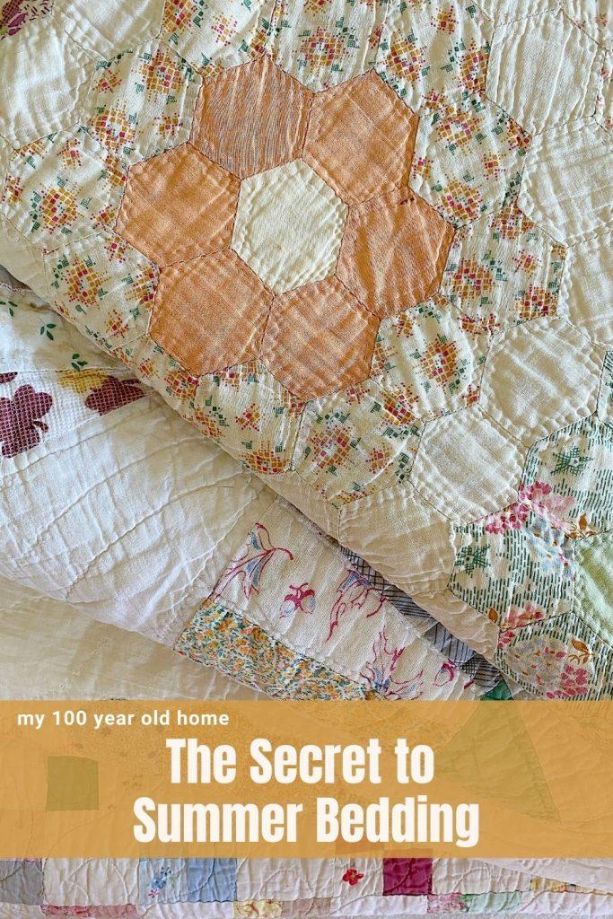 The Secret to Summer Bedding