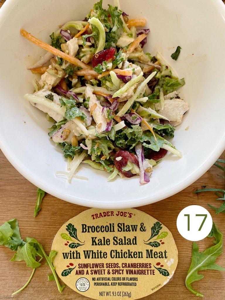 Trader Joe's Broccoli Slaw and Kale Salad