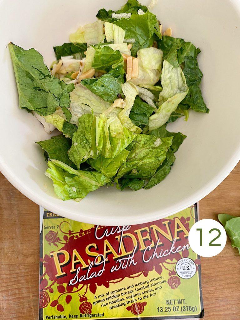 Trader Joe's Crisp Pasadena Salad with Chicken