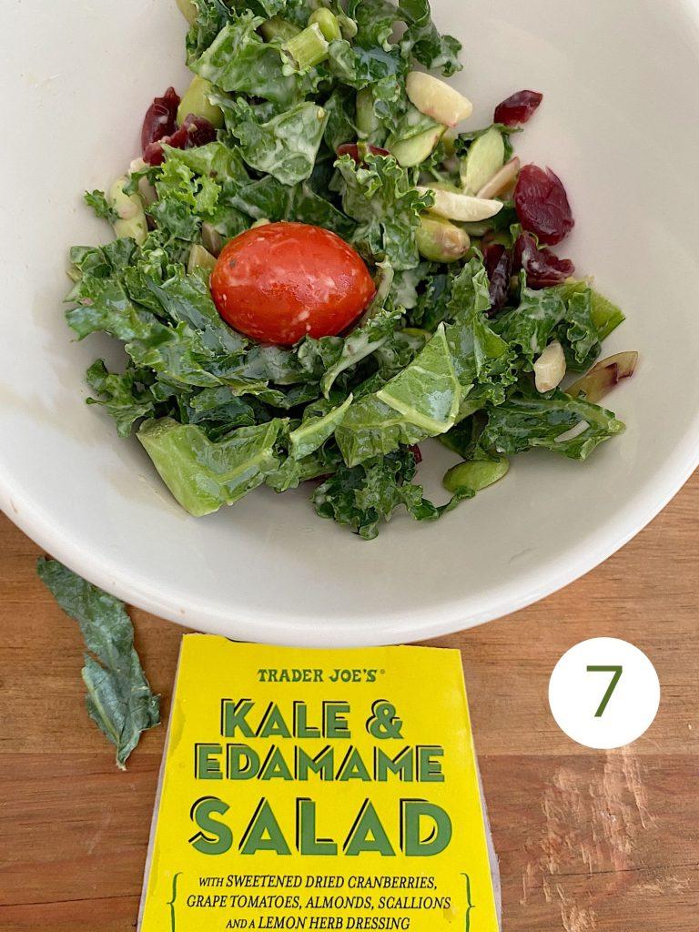 Trader Joe's Kale and Edamame Salad
