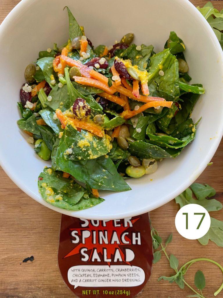 Trader Joe's Super Spinach Salad