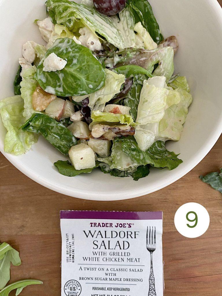Trader Joe's Waldorf Salad with Chicken