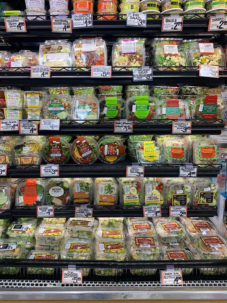 Trader Joe's salads