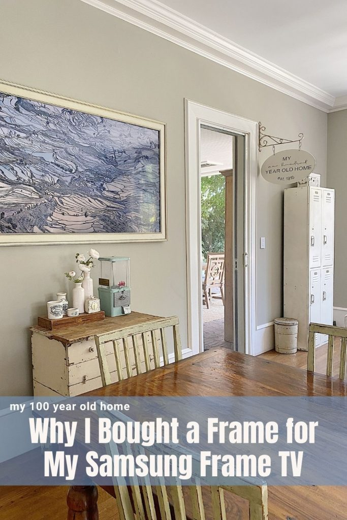 Why I Bought a Frame for My Samsung Frame TV