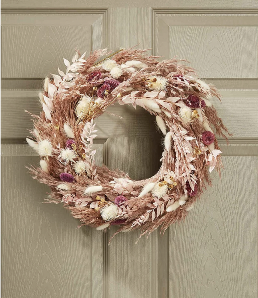 Dried-Floral-Fall-Wreath