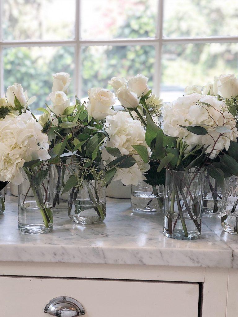 Engagement Party Flower Arrangements