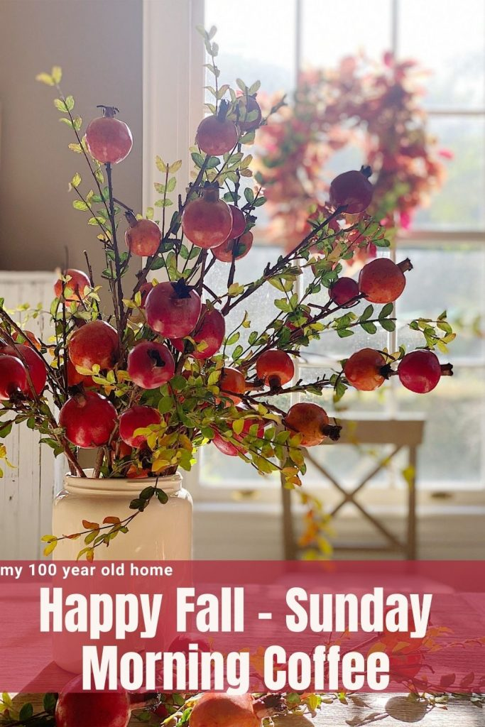 Happy Fall - Sunday Morning Coffee