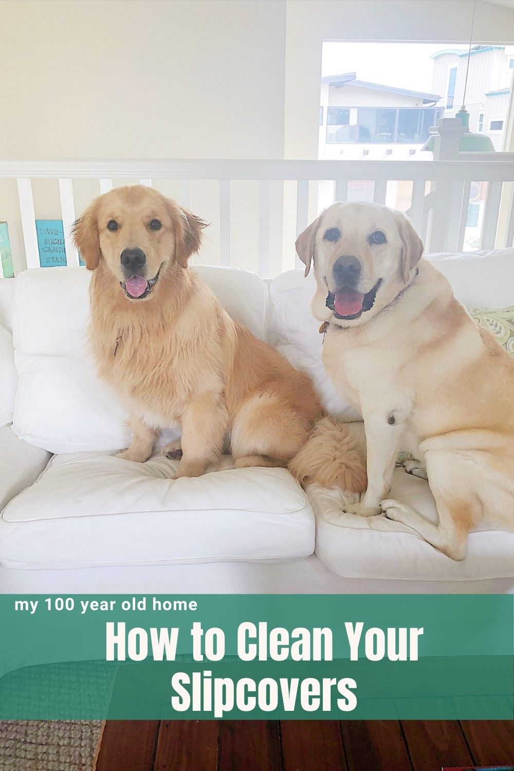 Have you ever wondered how to clean slipcovers? Today I am sharing how I wash our IKEA slipcovers. This method works every time.