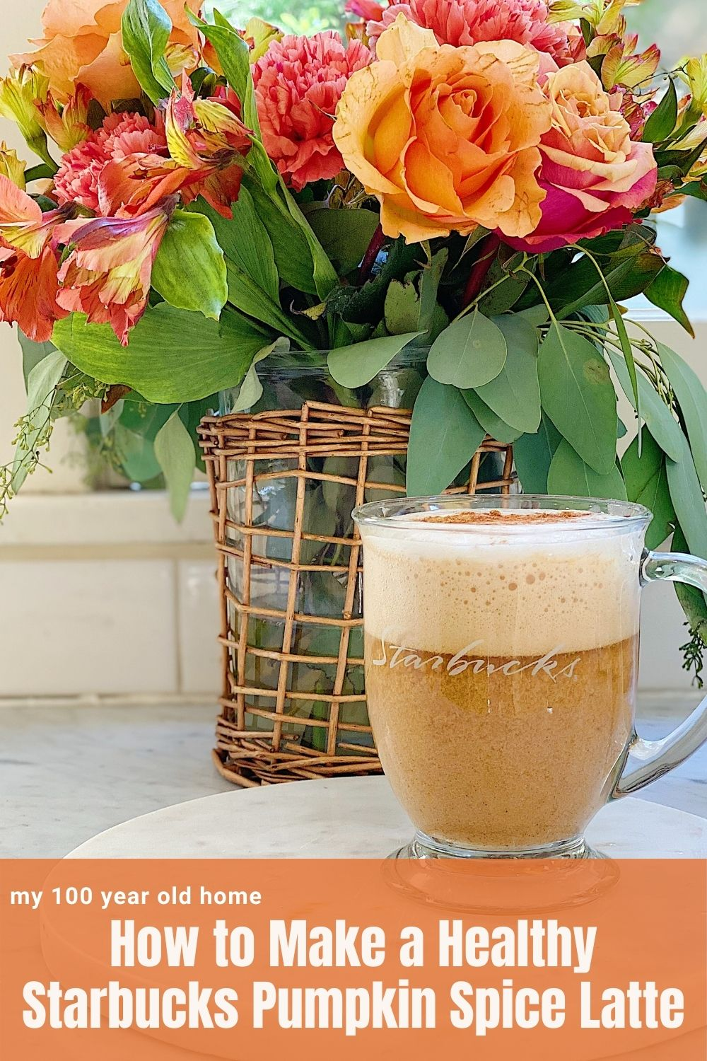 Everybody loves the Pumpkin Spice Latte Starbucks drink. Today I am sharing a healthy version that is gluten-free and dairy-free. It's a great copy-cat healthy recipe!
