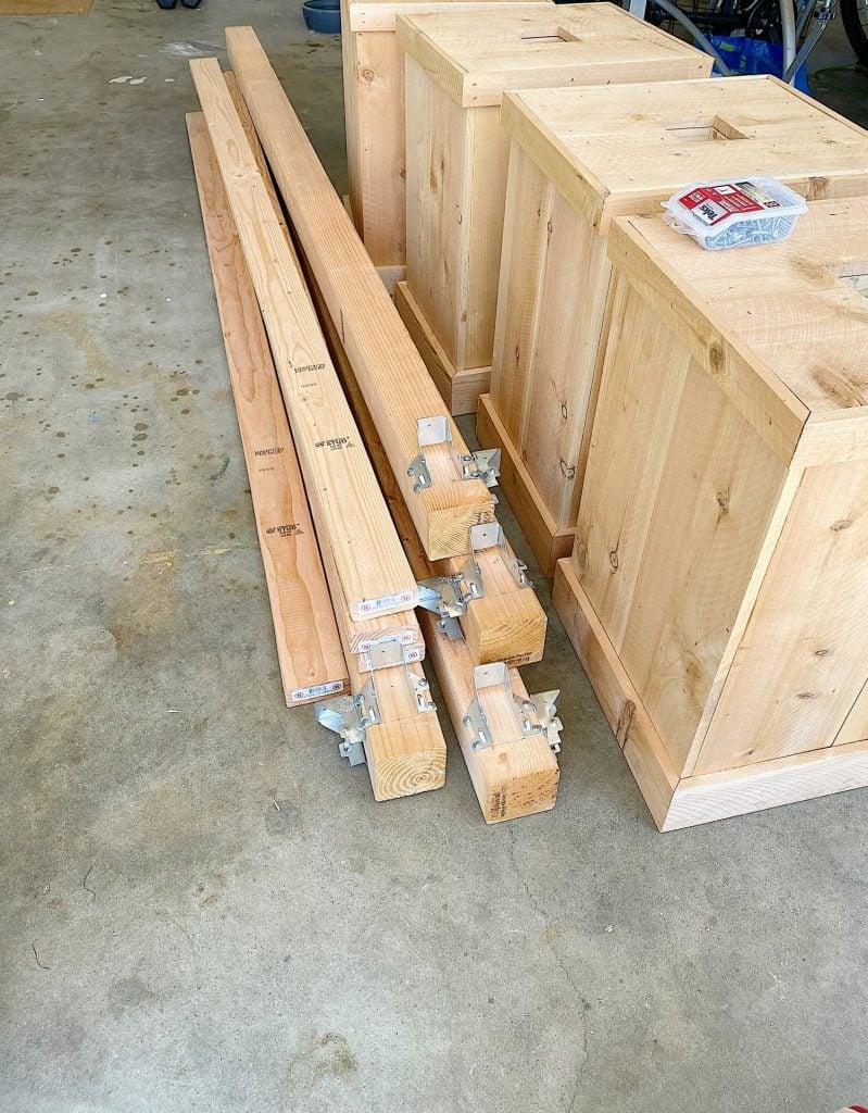 New Porch Posts Design