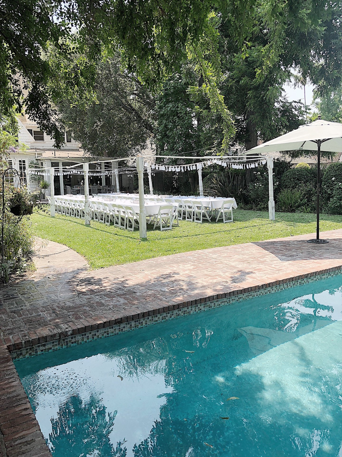 Outdoor Party for an Engagement