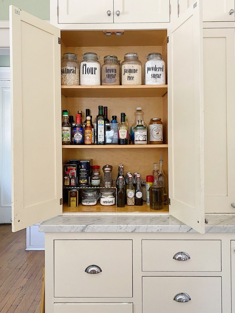 Pantry Cabinet Ideas for Fall