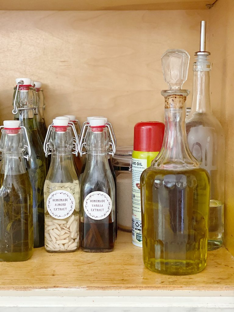Pantry Cabinet Ideas for Fall Homemade Vanilla